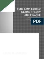 Burj Bank inslamic theroy fianace