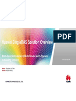 Huawei SingleDAS Solution Overview 2013_03(20130325)