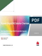 Huawei SingleDAS Solution Overview 2013_03(20130325)