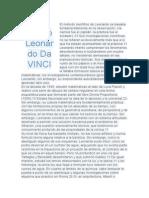 El Método Científico de Leonardo Se Basaba Fundamentalmente en La Observación