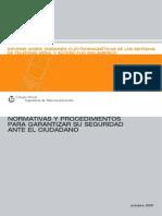 Normativa Conformidad Estaciones Base Coit
