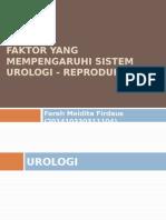 Faktor Yang Mempengaruhi Sistem Urologi - Reproduksi