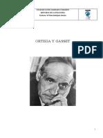 Ortega y Gasset apuntes