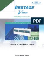 Fujitsu VRF Seria v, Manual Tehnic