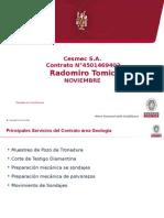 Presentación Avance Contrato Geología MARZO