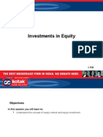 Investments in Equity