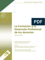 20110813-Encuesta Formacion y Desarrollo Profesional Docente_FUHEM_2010
