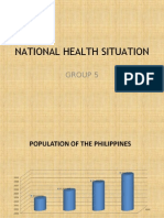 National Health Situation of the philippines for CHN