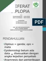 Ppt Ref Diplopia
