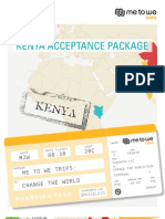 Kenya Acceptance Package