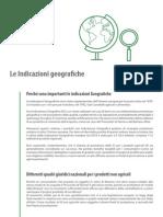 Le Indicazioni Geografiche (IG)