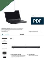 Inspiron 15 3531 Laptop Reference Guide en Us