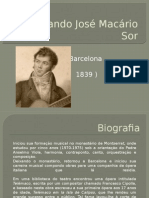 Fernando Sor - Biography