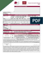 Impreso de Inscripción CIC 2015