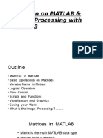 Revision on MATLAB & Image Processing With Matlab