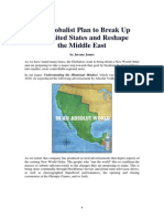 The Globalist Plan to Break Up the United States and Reshape the Middle East