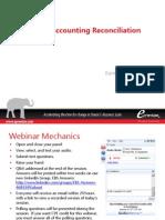 Subledger Account Reconciliation 05242013
