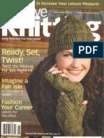 Creative Knitting - November 2010