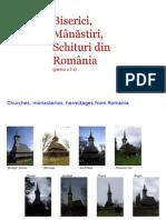 BISERICI,Manastiri,Schituri Din Romania 1