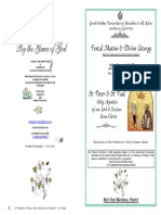 2015 - 29 June - St Peter & St Paul, The Apostles' Feast