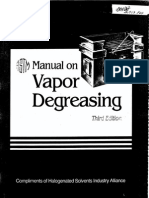 ASTM MNL 2 Manual on Vapor Degreasing 3rd Edition