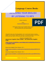 English Language Course Books