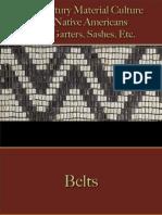 Native Americans - Belts, Garters, Sashes, Etc.