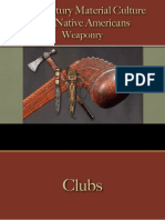 Native Americans - Weaponry