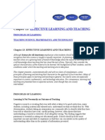 Effective Learning and Teaching-science,Mathematics and Technology