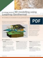 3D Geological Modelling