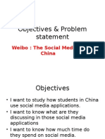 Objectives Problem Statemen.A
