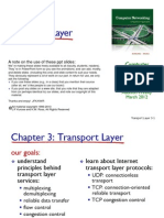 Chapter 3 TransportLayer
