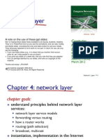 Chapter 4 NetworkLayer