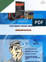 Juzt-Reboot System Presentation