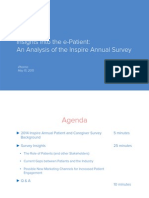 """Insights into the e-Patient"
