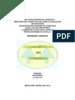 Ley Especial de Asociaciones Cooperativas en Venezuela