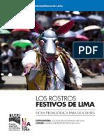 Ficha Para Docentes - Los Rostros Festivos de Lima