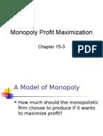 Monopoly Profit Maximization.ppt