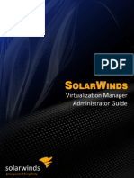 SolarWinds Virtualization Manager Admin Guide