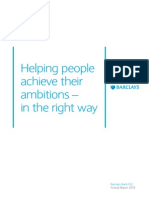 Barclays Bank PLC Annual Report 2014