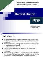 Motorul Electric - ppt