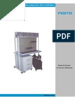 Painel Simulador de Hidráulica Industrial e Eletropneumática