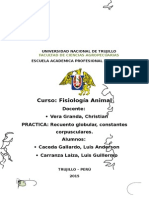 Fisiologia Animal Hematosis