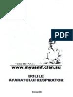 Bolile Aparatului Respirator - Victor Botnaru