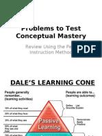 Conceptual Problems Review