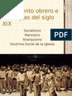 Socialismo, Doctrina Social y Anarquismo