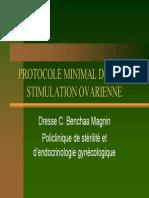 Protocole Minimal Dans La Stimulation Ovarienne (HUG)