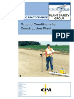 SFPSG Guidance on Ground Conditions