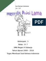 Bab 6 Hal 114-117 Menulis Puisi Lama