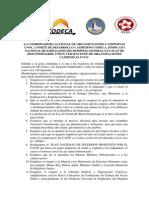 Comunicado -CNOC- -UVOC- -CODECA- y -Sindicato de Salud-
